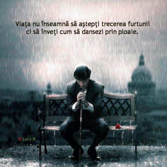 Dansand prin ploaie