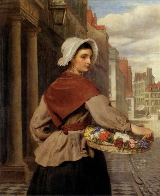 Frith_William_Powell_The_Flower_Seller