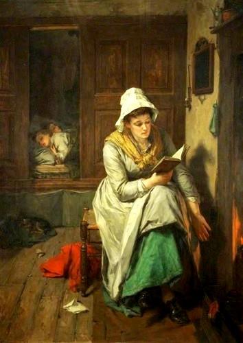 Reading - Thomas Faed
