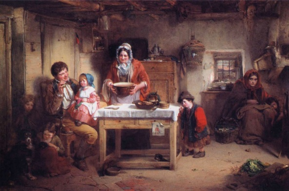 Thomas Faed - Home and the Homeless