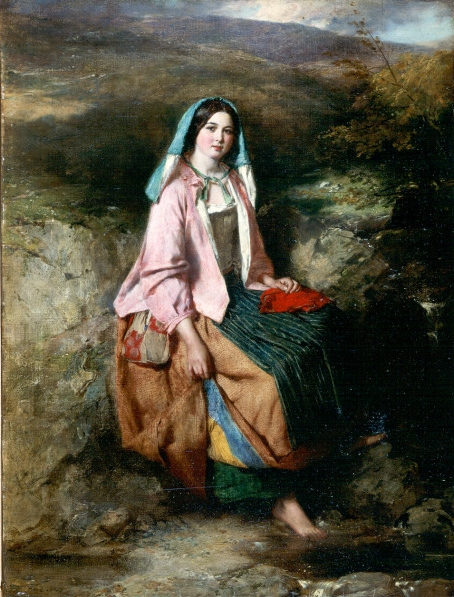Thomas Faed - Mistress_Mary