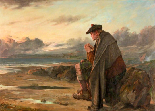 Thomas Faed - Oh, Why I Left My Hame