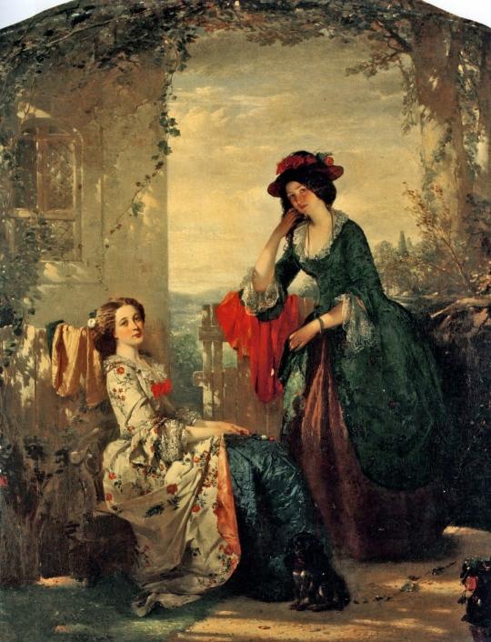 Thomas Faed - Sophia and Olivia
