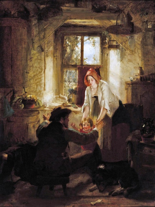 Thomas Faed - The First Step
