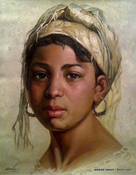 Waleed Yassin art painting egypt www.fenon.com