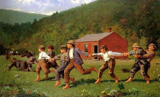 Winslow Homer - Facing Nature