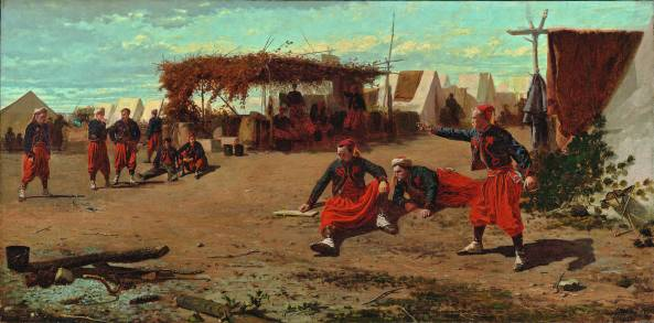 winslow_homer_pitching_quoits_1865
