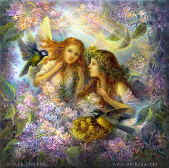 Nadia Strelkina - Caring_angels