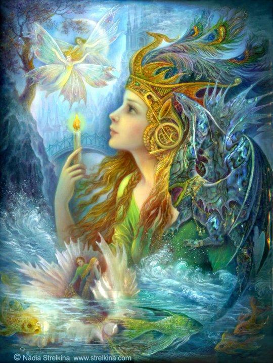 Nadia Strelkina - Fairy Angel