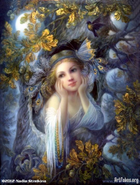 Nadia Strelkina - Magic-forest