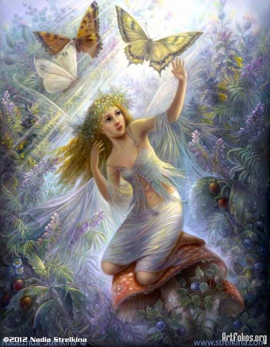 Nadia Strelkina_Fairy-World