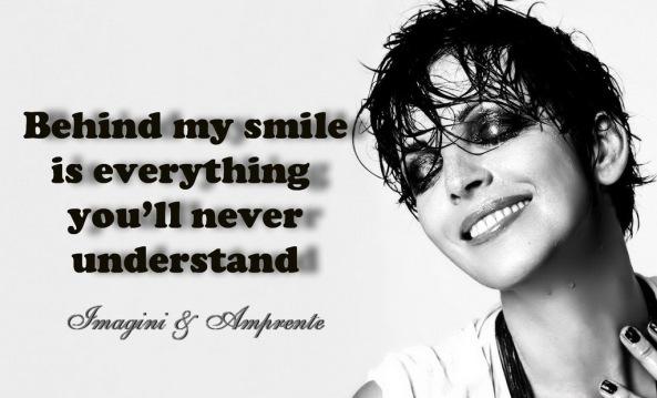 smile & sadness