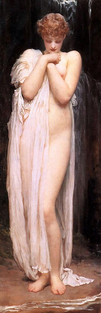 A Bather Frederic Leighton