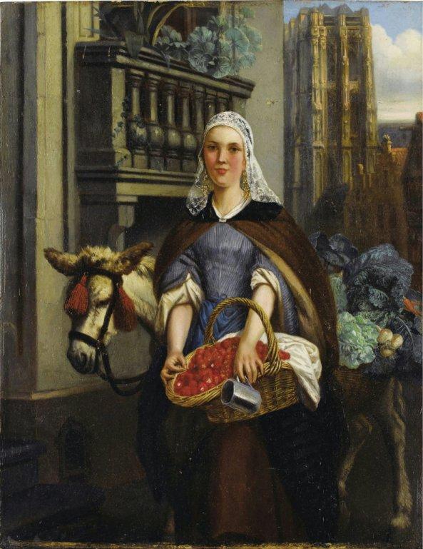 Adrien Joseph Verhoeven-BALL (1824-1882)