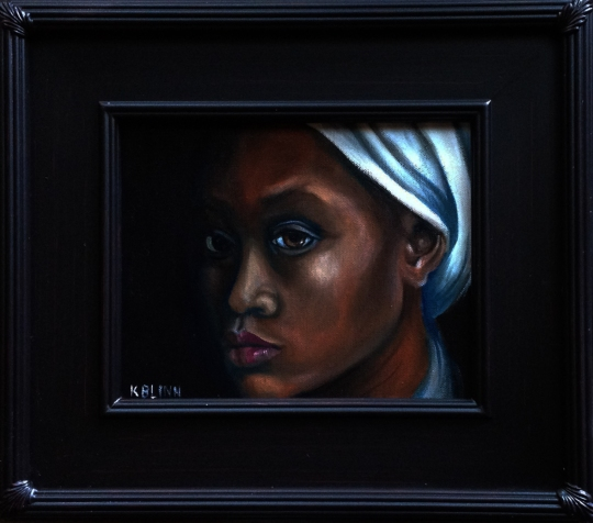 African woman 8 x 10