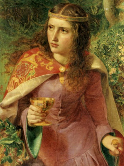 Anthony Frederick Sandys (1829-1904 - Queen_Eleanor