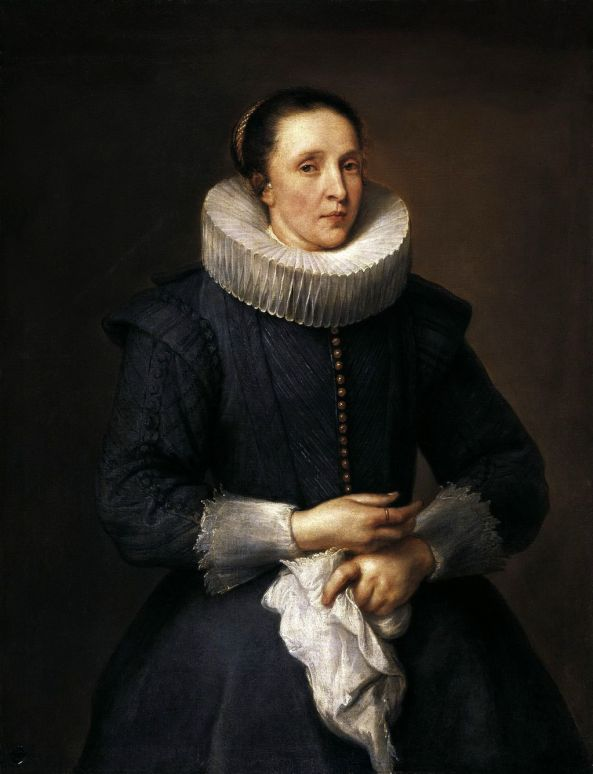 Anthony van Dyck - Portrait of a Woman. ok1618