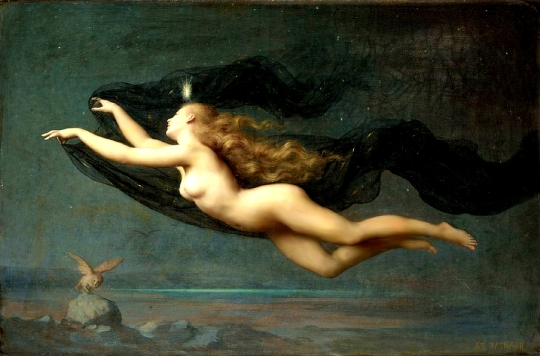 Auguste Raynaud - The Night