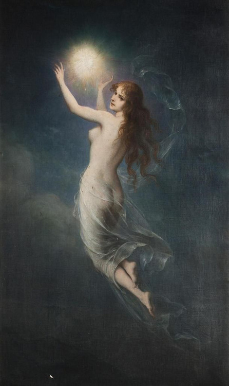 Carl Schweninger The Morning Star and the Moon
