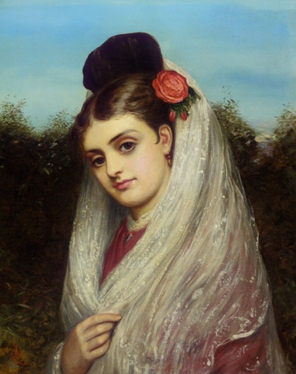 Charles Sillem Lidderdale - The Young Bride