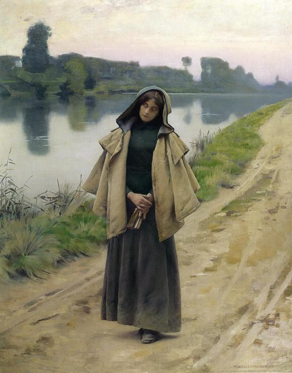 Charles Sprague Pearce Solitude