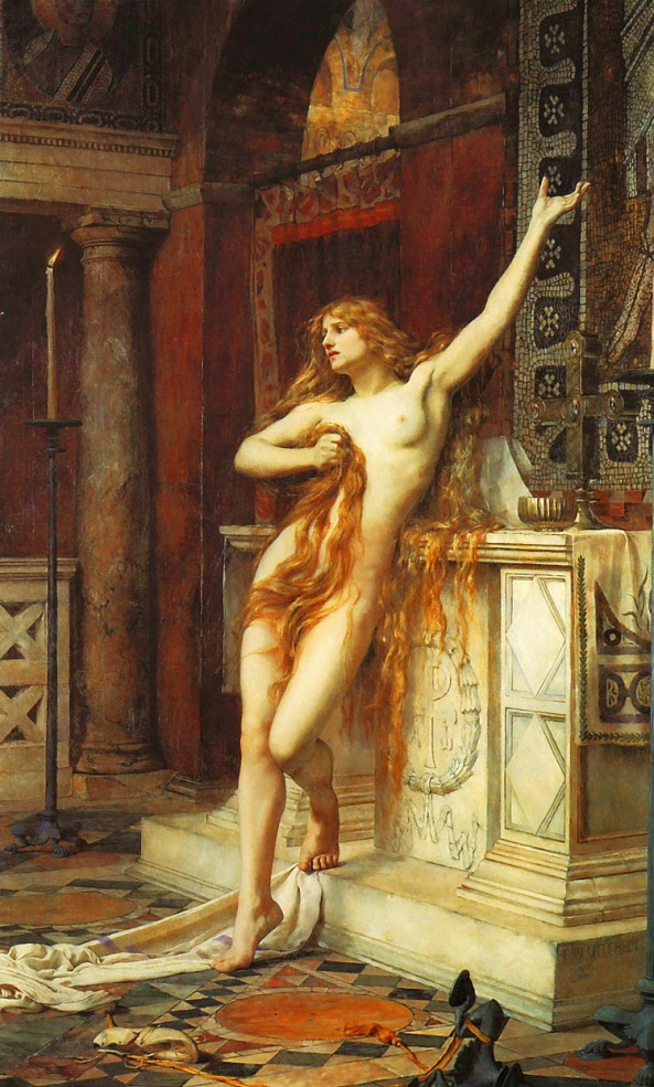 Charles William Mitchell - Hypatia