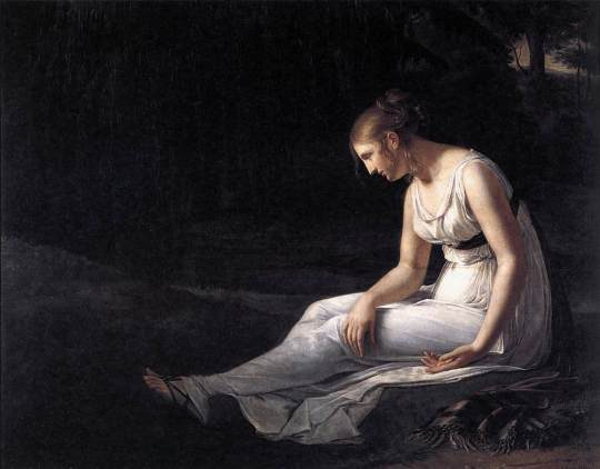 Constance Charpentier - 1709-melancholy