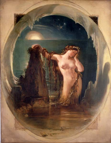 Daniel Maclise - The Origin of the Harp