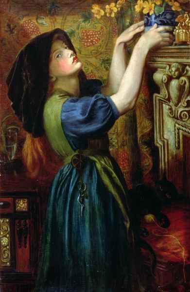 Dante Gabriel Rossetti  - Marigolds 1874