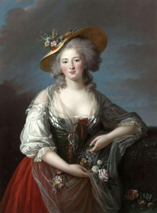 Elisabeth-Louise Vigee-Lebrun - Elizabeth French