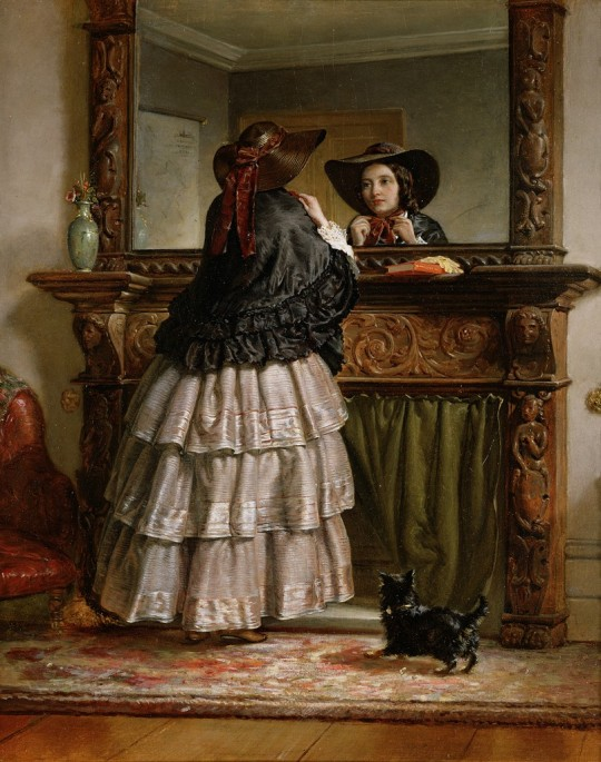 Farewel~ and Preparing For A Walk -~ Philip Hermogenes Calderon ~ 1833 - 1898.