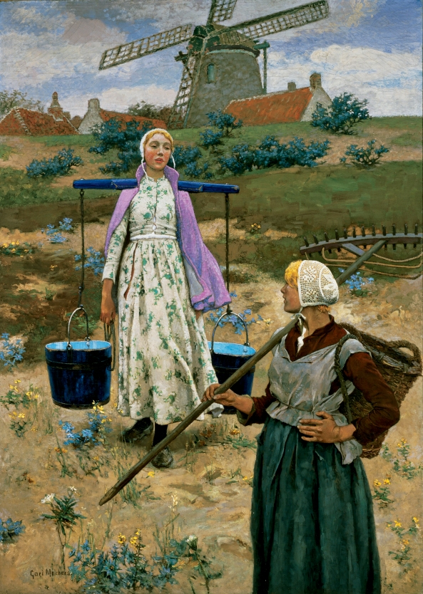 Gari Melchers - In Holland
