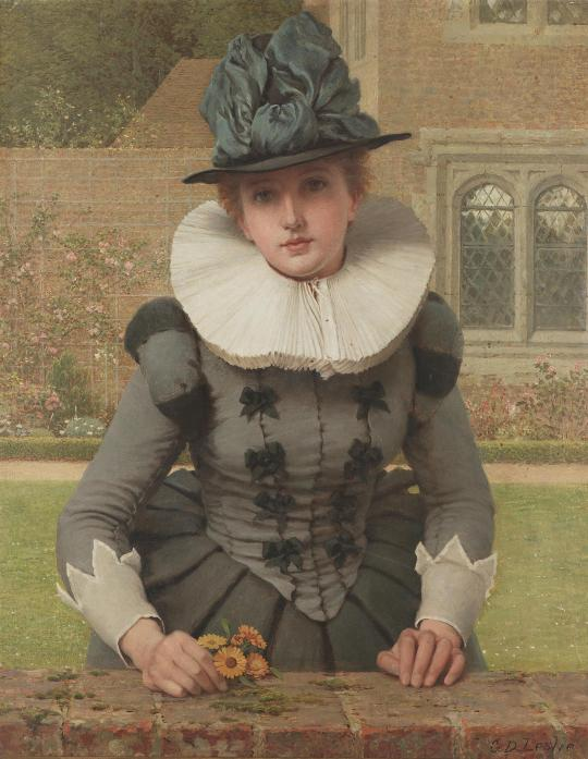 George Dunlop Leslie (1835 - 1921) - Sweet Anne Page