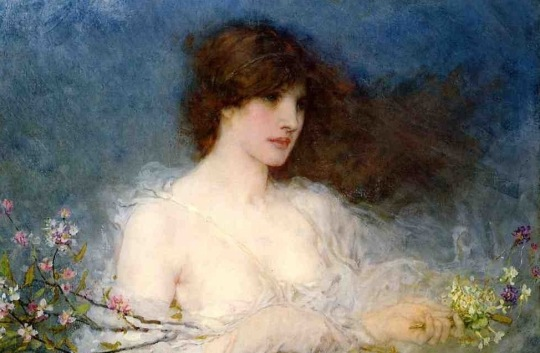 George Henry Boughton A Spring Idyll