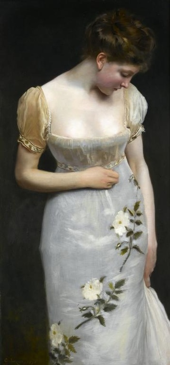 Gustave Jean Jacquet - Mademoiselle