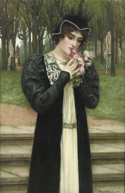 Herbert Gustave Schmalz - A Message of Love