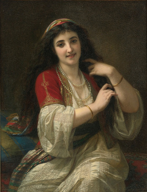 Hugues Merle - A Turkis Beauty