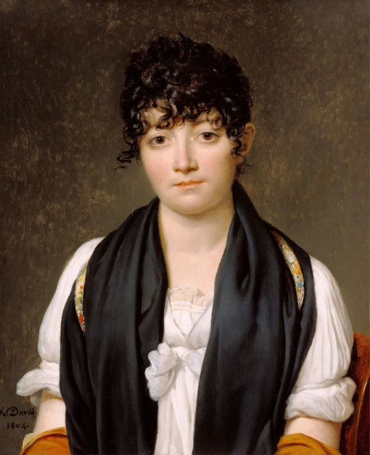 Jacques-Louis David (1748 - 1825) - Suzanne Le Peletier de Saint-Fargeau