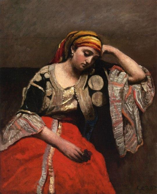 Jean-Baptiste Camille Corot, Juive d'Alger (L'Italienne)