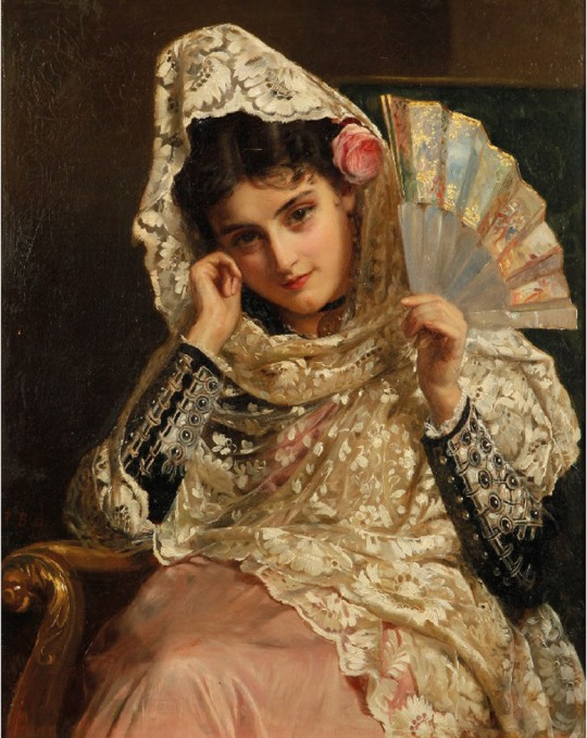 John Bagnold Burgess - Spanish Gypsy