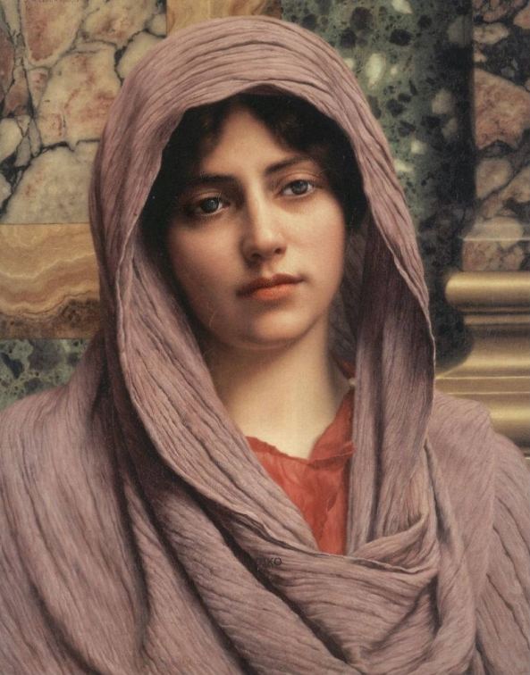 John William GODWARD (1861–1922) Lycinna