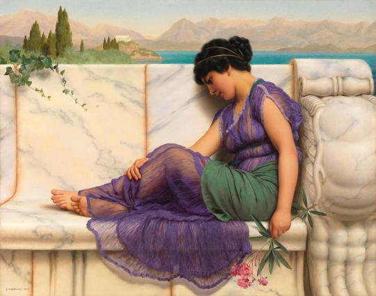John William Godward - Summer Idle