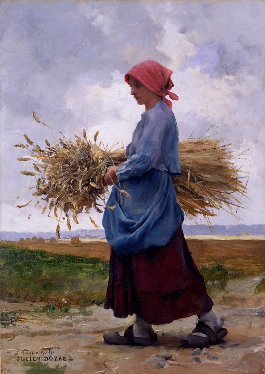 Julien Dupré - Returning from the fields