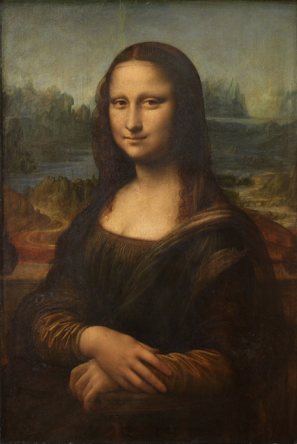 Leonardo DA VINCI Mona Lisa 1503-1506 (original)