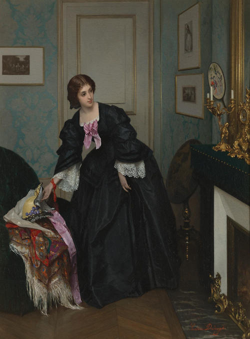 Look At The Time - ~ Gustave de Jonghe ~ 1829 - 1893.