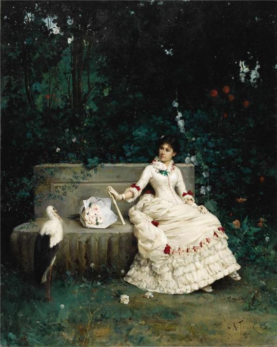 LOUIS A. TESSIER (1843 - 1909)
