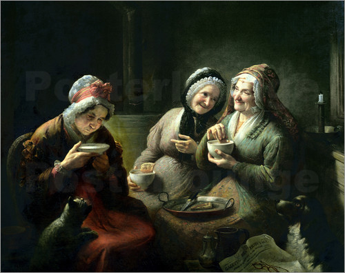 louis-grosclaude-the-three-gossips