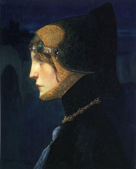 Lucien-Victor Guirand de Scévola - Head of a Lady