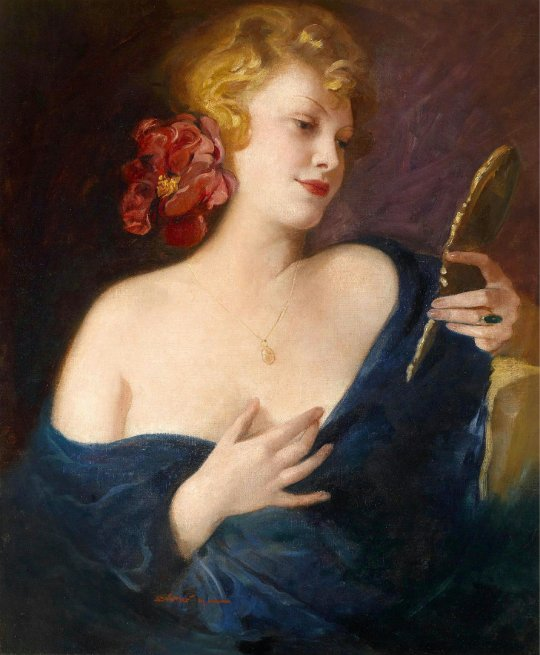 Maria Szantho (1898-1984) Young Beauty