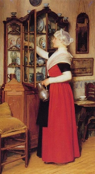 Nicolaas Van Der Waay. Dutch (1855 - 1936)